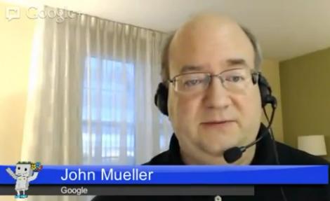John Mueller Google Senior Webmaster Trends Analyst