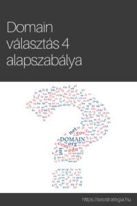 A domain választás 4 alapszabálya - seostrategia.hu